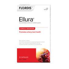 3 x 15 capsules  FLORDIS Flordis Ellura ( concentrated cranberry juice )