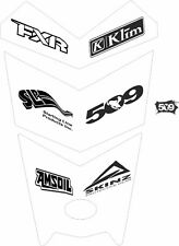 POLARIS HOOD decal SWITCHBACK RUSH 800 600 PRO S X AXYS 120 137 144 155 WHITE w