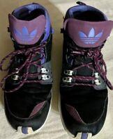 adidas Fortitude Mid Origanals Men's Sz 11 Sneaker Boot Black/Phantom/Crimson