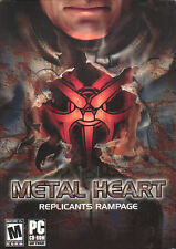 METAL HEART REPLICANTS RAMPAGE Role Playing PC Game NEW