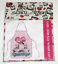 I LOVE LUCY Lucille Ball Desi Arnaz Comedy TV Show WORK UTILITY KITCHEN APRON