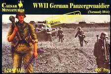 Caesar Miniatures 1/72 Ww2 allemand Panzergrenadiers (normandie 1944)