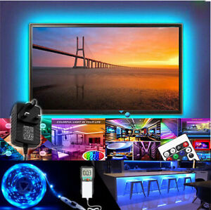 LED Strip Lights PLUG 5M-20M RGB Color 3528 Light TV Lighting Flexable Tape