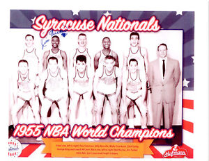 1955 SYRACUSE NATIONALS  NBA CHAMPIONS  TEAM 8X10 PHOTO  BASKETBALL
