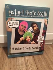 Insta Photo Booth - for instant images with captions - new