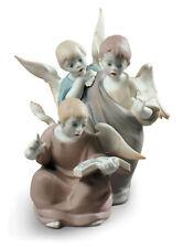 LLADRO ANGELIC VOICES FIGURINE #9188 BRAND NIB RELIGIOUS CUTE ANGELS SAVE$$ F/SH