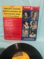 "RCA VICTOR ENCYCLOPEDIA OF JAZZ  10""  VINYL LP_DUKE ELLINGTON_BUD FREEMAN+++"
