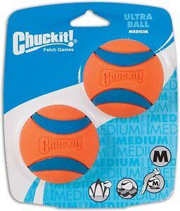 Chuckit Ultra Ball Medium 2 Pack-Fetch Balls for Dogs!