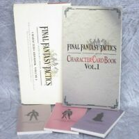 FINAL FANTASY TACTICS Character Card Book 1 Art Set Illustration DC55