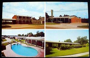 1950s Multiview Chateau Charles Highway Hotel, Lake Charles LA