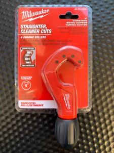 """MILWAUKEE 1"""" SMOOTH ADJUSTMENT CONSTANT SWING COPPER TUBING CUTTER 48-22-4259"""