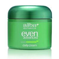 Alba Botanica Even Advanced Sea Lipids Daily Cream 2 oz (Pack of 2)