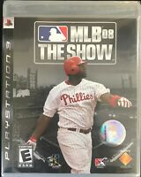 MLB 08: The Show (Sony PlayStation 3, 2008) brand new factory sealed p3