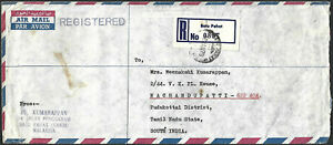 Malaysia 1979 $1 Butterfly Registered Cover used Johor