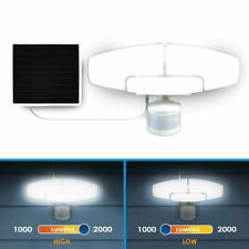Sunforce 2000 Lumen LED Motion Activated Solar Security Light