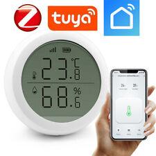 TUYA ZigBee Drahtloser LCD-Temperatur- und Feuchtigkeitssensor Smart Home