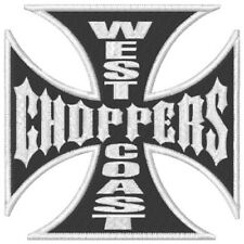 TOPPA PATCH HARLEY DAVIDSON WEST COAST CHOPPERS GIACCA GILET BIKER SPORTSTER WCC