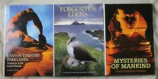 National Geographic Society book lot-Mysteries of Mankind, Forgotten Edens etc..