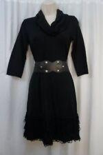 Vestiti da donna, taglia piccola nero acrilico
