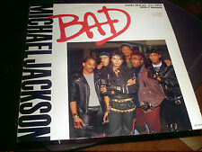 MICHAEL JACKSON Vinyl Maxi BAD - Rare Mixes
