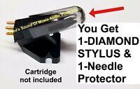 Ortofon OM NSM Needle DIAMOND Stylus Jukebox Record Player Turntable Replacement