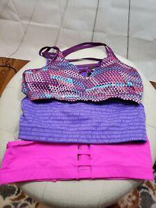 Lot of 3 - Victorias Secret Sports Bras Various Colors, Styles Medium FAST SHIP