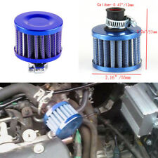 Auto Car 12 mm Blue MINI Air Intake Crankcase Brather Filter Valve Cover Vent