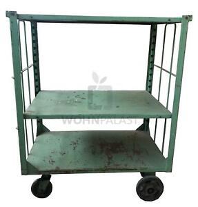Original Industrie Wagen Kommode TV Board Anrichte Industrial Vintage