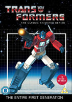Transformers: The Classic Animated Series DVD (2014) Gwen Wetzler cert PG 13