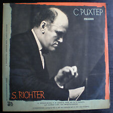 SVIATOSLAV RICHTER-PIANO,PROKOFIEV PIANO SONATAS,M.K. BLUE LABEL, VERY RARE, LP