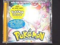 1990s 1998 1999 POKEMON MOVIE music CD SOUNDTRACK Britney Spears NSYNC PIKACHU~~