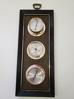 VTG Springfield Instrument Co. Thermometer Barometer and Humidity Meter 19 x 7