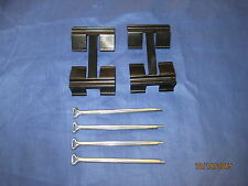 MG MIDGET SPRITE 1967 -80 SET OF BRAKE PAD  PINS AND SPRING CLIPS PAD TR7 VIVA
