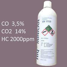 Kalibriergas - Flasche für AU-Geräte --- AU Prüfgas pas. für Gutmann, Bosch usw.