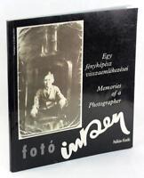 Foto Inkey Egy Fenykepesz Visszaemlekezesei Memories of a Photographer