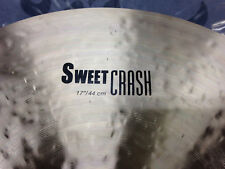 "NEW Zildjian 17"" K Sweet Crash Cymbal"