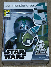 SDCC 2008 EXCLUSIVE STAR WARS MIGHT MUGGS COMMANDER GREE BRAND NEW