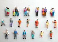 F4 H0- 100 Figuren Reisende Passanten Kinder Paare 1:87