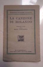 LA CANZONE DI ROLANDO BONFANTINI 1932
