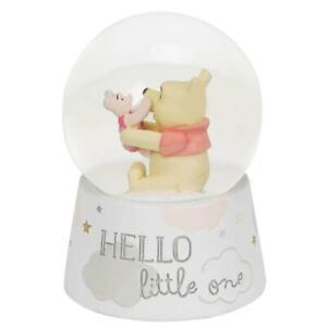 NEW Disney Magical Beginnings Pooh & Piglet Snowglobe - Baby Gift - Snow Globe