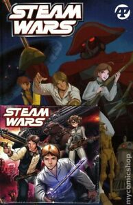 Steam Wars HC With Soundtrack CD #1-1ST NM 2021 Stock Image
