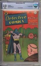 Detective Comics # 116  Rescue Robin Hood !  CBCS 2.0 scarce Golden Age book !