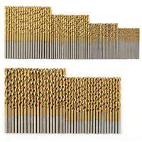 Set di Punte da Trapano HSS in Titanio da 120 Pezzi per Metallo, Acciaio, L L5F6