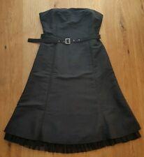 b091c1f254c Elegantes Kleid v. Mexx Gr 42 schwarz glänzend mit Tüll Abendkleid Hochzeit  Ball
