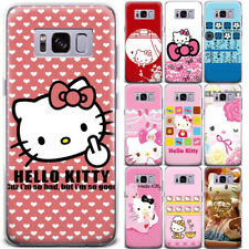 Lovely Hello Kitty Anime Pattern Phone Case Cover For Samsung Galaxy Series