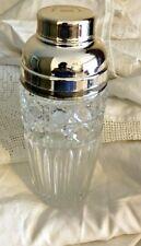 Vintage Cocktail Shaker Bleikristall 24 lead crystal Holland America Cruises