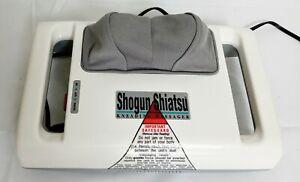 Homedics Shogun Shiatsu Kneading Neck/Head Massager