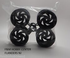 New Tamiya AMAROK Wheel Rim (Set of 4) Dark Gray Fits Black foot Xtreme 10440666