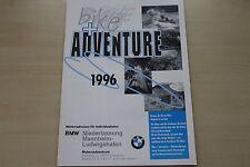 168414) BMW Motorrad - Reisen - Prospekt 1996