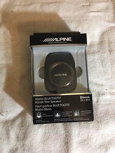 Alpine DCS-BT1 Alpine Bluetooth Hands-free Speaker No Charger